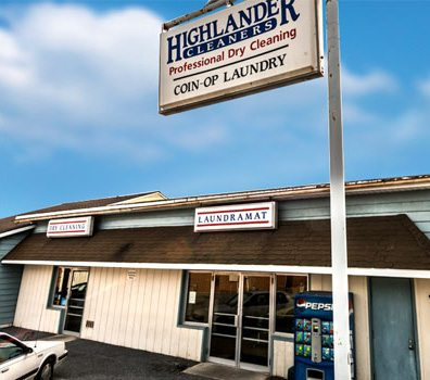 Highlander Cleaners Storefront and Laundromat in Mount Joy, PA