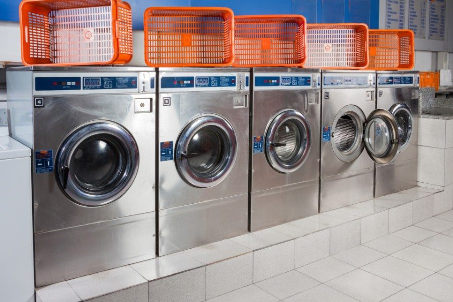 Commercial Washing Machines in Our Laundromat